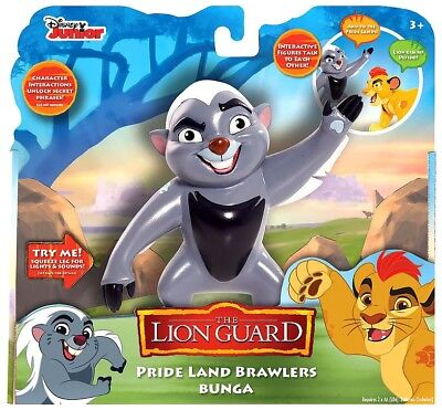 Disney The Lion Guard Pride Land Brawlers Bunga Interactive Action Figure
