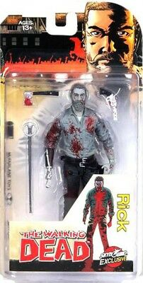 The Walking Dead Comic Rick Grimes (2016) Action Figure [Bloody Black & White]