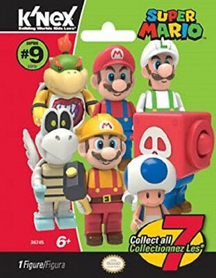 3X-K'nex Super Mario Series 9 MINI FIGURE BLIND PACK TO COLLECT ALL US Seller