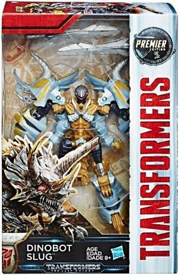 Transformers The Last Knight Premier Deluxe Dinobot Slug Action Figure