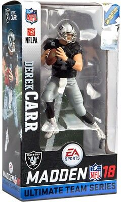 dbed489f6 NFL EA Sports Madden 18 Ultimate Team Series 2 Derek Carr Action Figure