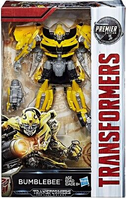 Transformers The Last Knight Premier Deluxe Bumblebee Action Figure [Version 2]