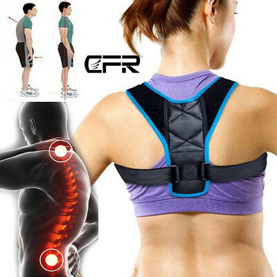 Posture Clavicle Corrector Back Support Straight Shoulders Brace Prevent Slouch
