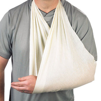 Packof 10 Medical First Aid Calico Triangular Bandage Reusable Arm Sling Support