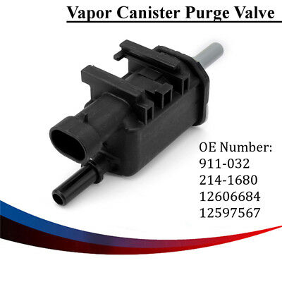 Vapor Canister Purge Valve Solenoid Parts 12597567 214-1680 911-032 12606684
