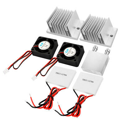 Heat Sink Conduction Module Thermoelectric Peltier Cooling Tool Kit Set TE955