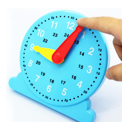 Scientific Cognition Clock Education Toy Baby Toy Early Learning Kids Toy Hot B