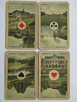 Wereld. Antikes Niederlandisches Kartenspiel. SN. Rare antique Dutch deck.