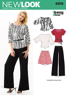 Simplicity New Look Sewing Pattern Women's Separates 6816