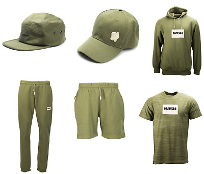 Nash Tackle Kids Joggers Green *All Sizes* Children Fishing Jogging Bottoms NEW