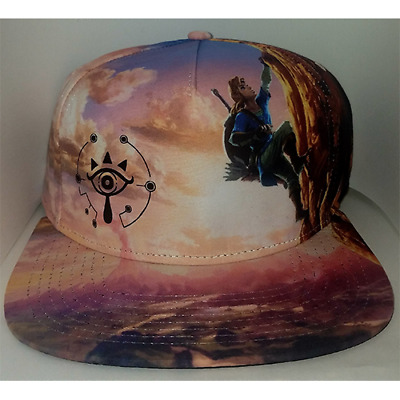 Legend of Zelda Breath of the Wild Snapback Cap Hat Bioworld New