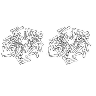 100pcs Hawaiian Snaps with Easy Link Swivels Quick Change Clips Connectors