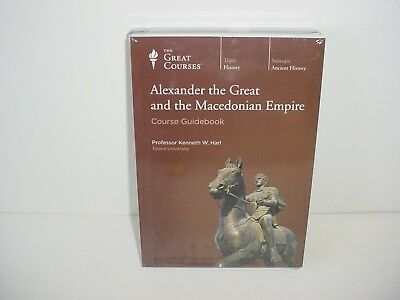 Alexander the Great and Macedonian Empire The Great Courses DVD and Guidebook