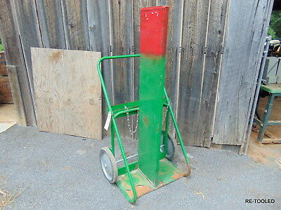 DUAL LARGE CYLINDER Welding Cart Portable Oxygen and Acetylene Cart SAFTCART