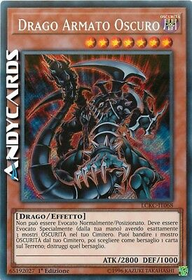 DRAGO ARMATO OSCURO (Dark Armed Dragon) • Segreta • LCKC IT068 Yugioh ANDYCARDS