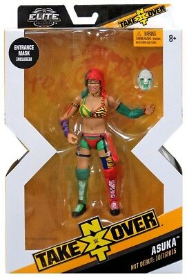 WWE Wrestling Elite NXT Takeover Asuka Action Figure [Entrance Gear]