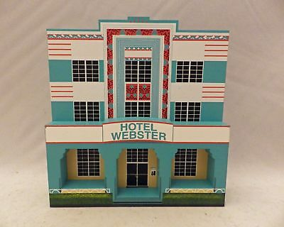 Shelia's Collectibles - Hotel Webster - Art Deco Series - # DEC01