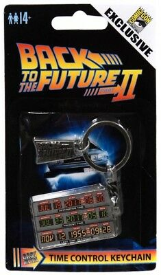 Back to the Future II Time Circuit Exclusive Keychain