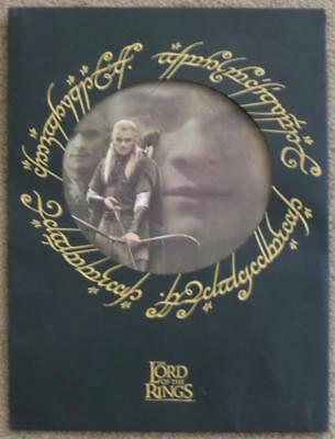 LIMITED ED LORD OF THE RINGS PORTFOLIO with 9 PRINTS + MAP & COA ~ TOLKIEN ART