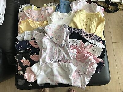 Bundle Baby Girls Clothes Age Up To 1 Month/1st Size