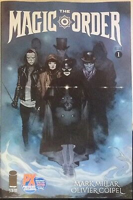 The Magic Order Issue #1 PX Exclusive SDCC 2018 Comic Con Limited Ed. to 2,000