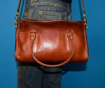 814a46211a Vintage 70s COACH Brown Leather MADISON Cashin Satchel Doctor Tote Purse Bag  NYC