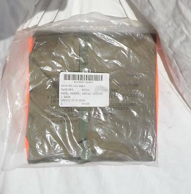 US Army Signal Corp Signal Panel Marker Orange & Green NOS in Package, 2009