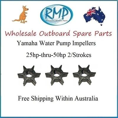 Wholesale Yamaha Outboard Water Pump Impellers 25hp-thru-50hp # R 6H4-44352