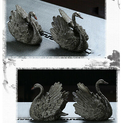 Color-Changing tea pet Swan statue Chinese ornament Kung Fu Tea Accessories