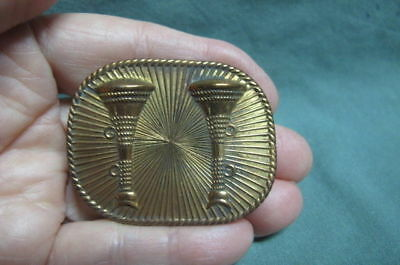 Vintage   Fireman Hat Badge