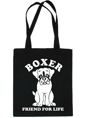 Boxer Dog Lover Funny Shopping Tote Bag Ladies Gift