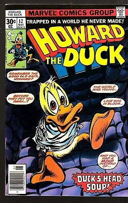 Howard The Duck #12 (May 1977) First Kiss Appearance Fn