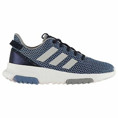 adidas Kids Cloudfoam Racer Childs Sneakers Running Shoes Lace Upted