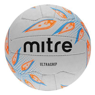 Mitre Ultragrip Netball Ball Football Pattern Panel Design