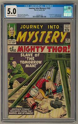 Journey Into Mystery #102 CGC 5.0 (C-OW) 1st Balder Hela & Sif
