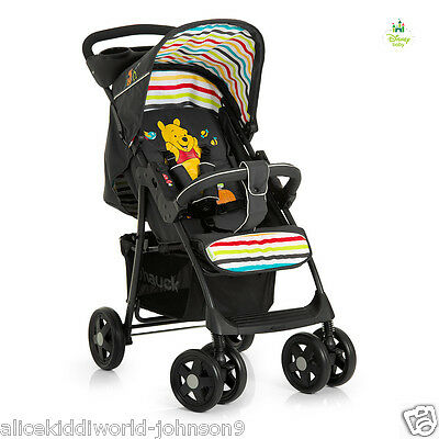 New Hauck Disney Winnie the Pooh tidytime shopper pushchair pram buggy stroller