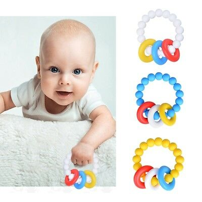Baby Safety Silicone Teething Chewable Teeth Biting Infant Toddlers Toy