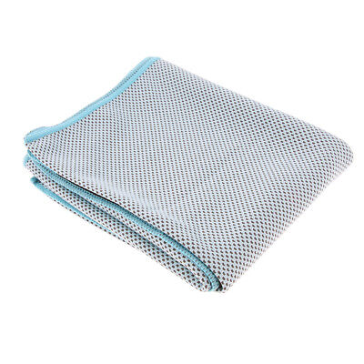 Summer Instant Cooling Towel Ice Cold Sports Neck Cooler Running Lake Blue