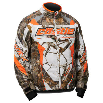 Castle X™ Bolt G4 Realtree AP Snow Insulated Men's Snowmobile Jacket, 70-578X