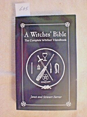 A Witches' Bible by Janet and Stewart Farrar.  Paperback book.