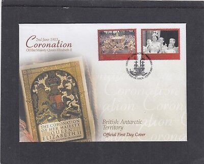 BAT 1978 Queen Elizabeth II Coronation 50th Anniversary FDC BAT pictorial fdi pk