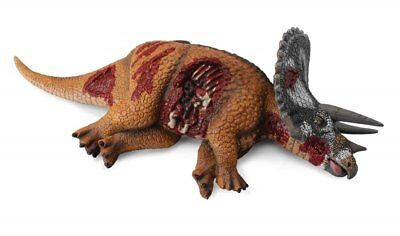 DEAD TRICERATOPS DINOSAUR by CollectA/ Prey/ 88528/ RETIRED