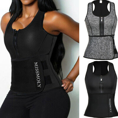 Fajas Colombiana Waist Trainer Corset for Weight Loss Sauna Sweat Vest With Belt
