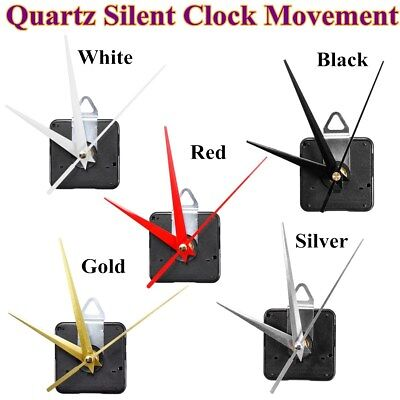 13mm Long Spindle Quartz Silent Wall Clock Movement Mechanism DIY Repair Parts
