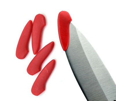 3pcs Red Knife Blade Cover Plastic Protection Tip Protect Accessories DIY Tool