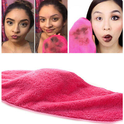Microfiber Cloth Pads Remover Towel Face Cleansing Makeup Remover Towel