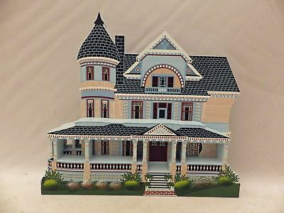 Shelia's Collectibles - Queen Anne Mansion - Victorian Springtime III - # VST12