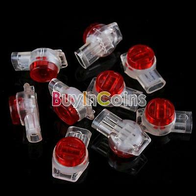 15X Securely UR2 3-Wire Contact IDC Connectors Insulation Displacement Reliable