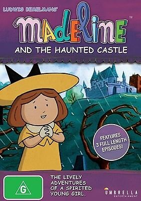 Madeline And The Haunted Castle - New & Sealed Region 4 DVD - FREE POST
