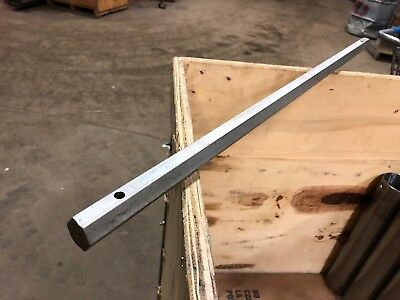 """7/8"""" 0.875"""" Thick x 30"""" Long 304 Stainless Steel Hex Bar"""